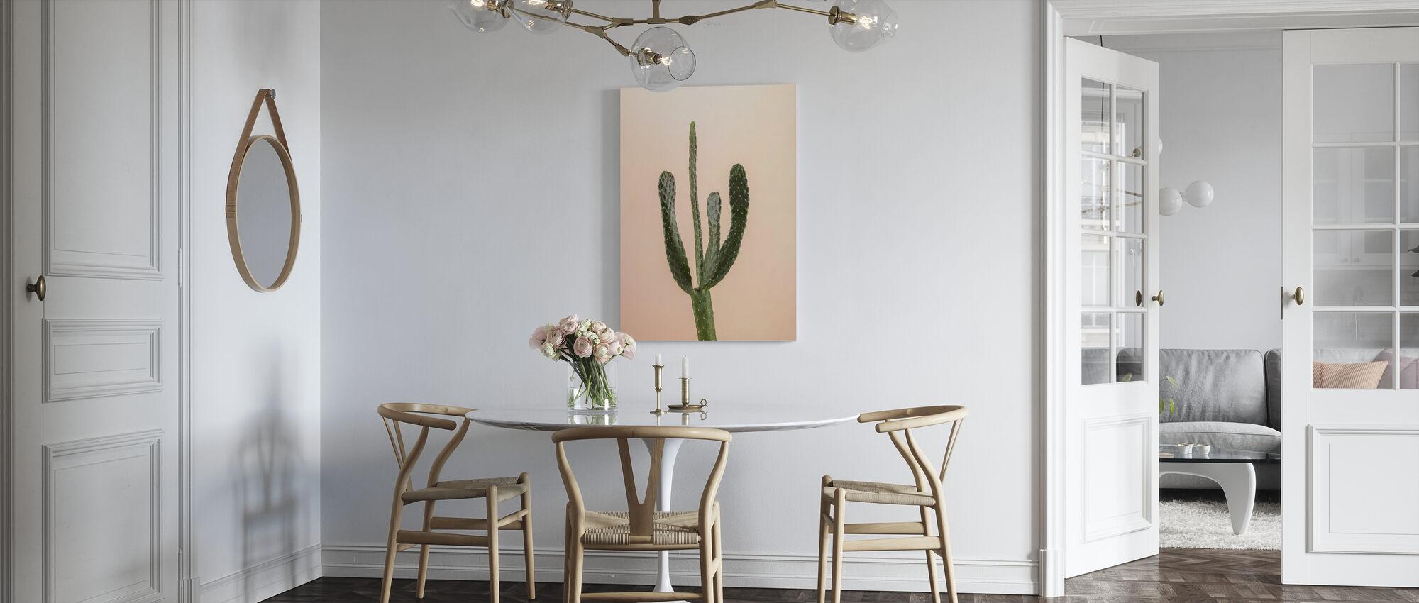 Cacti - Beige - Canvas print - Kitchen