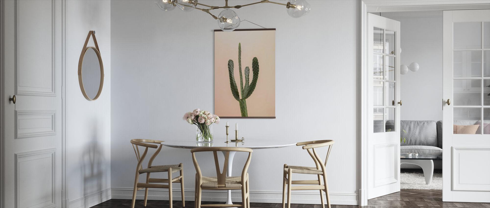 Kaktukset - Beige - Juliste - Keittiö