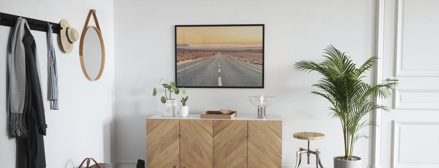 Wüstenstraße - Poster - Flur