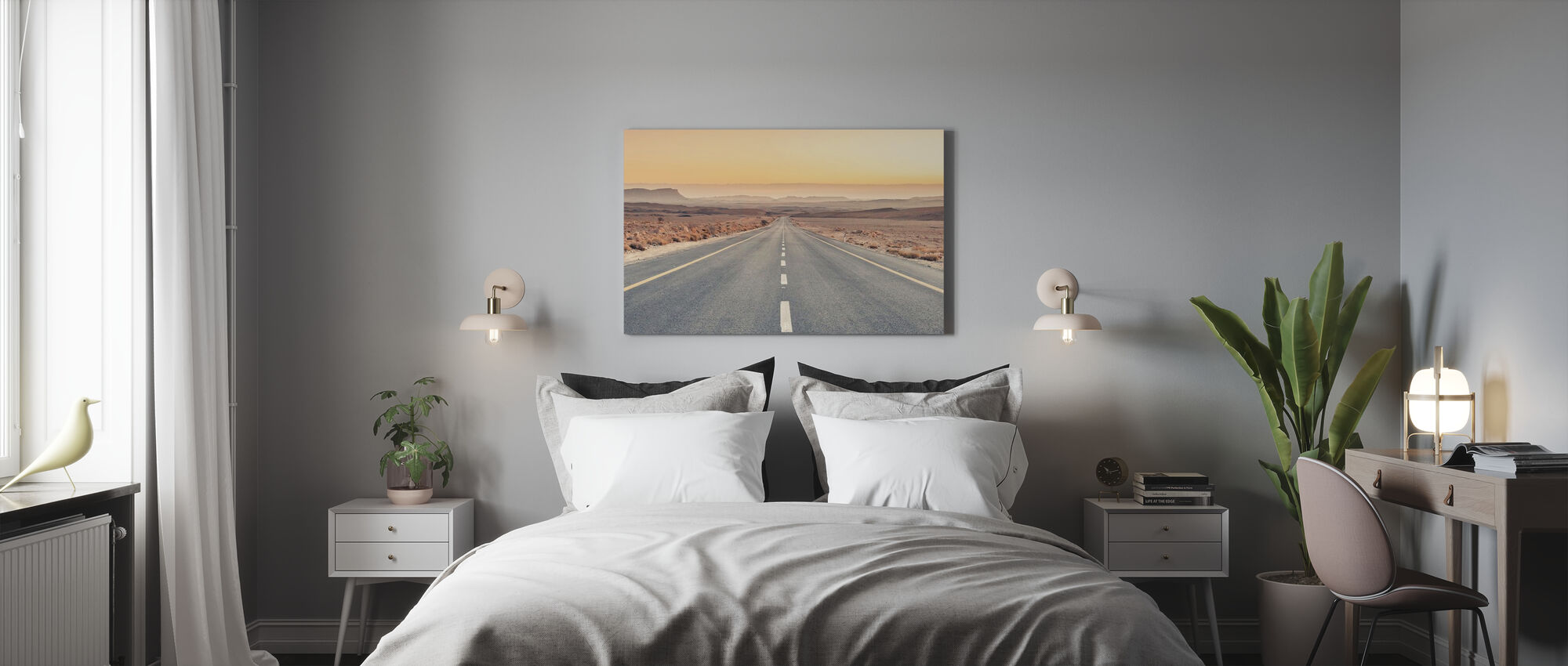 Desert Road - Canvas print - Bedroom