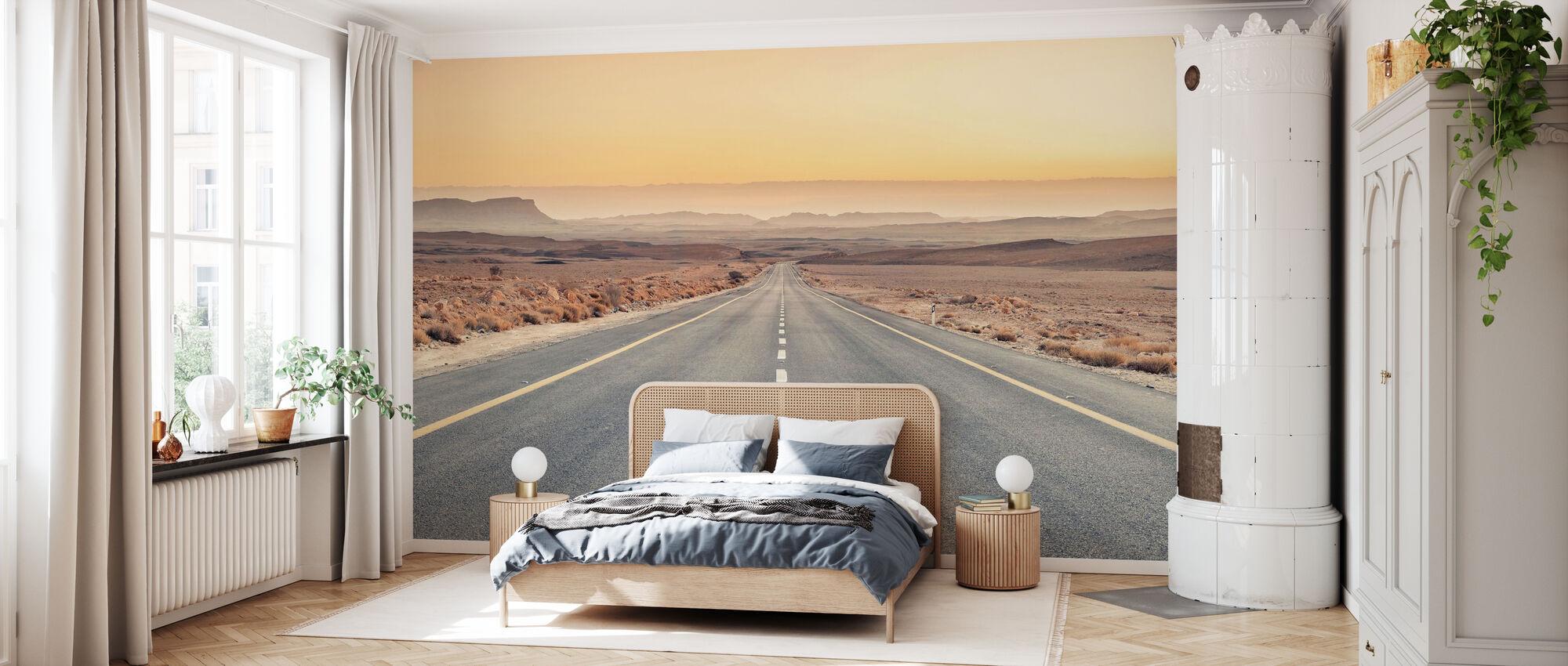 Desert Road - Wallpaper - Bedroom