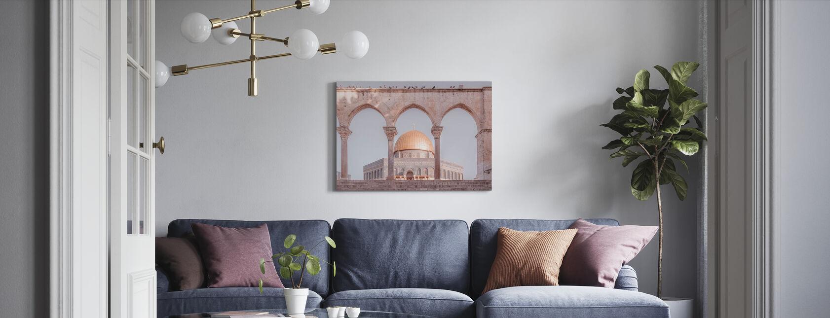 Al-Aqsa-moskee - Jeruzalem - Canvas print - Woonkamer
