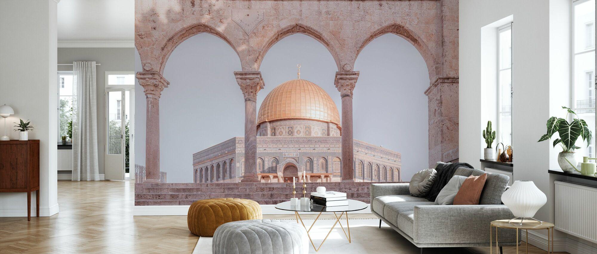 Al-Aqsa Moschee - Jerusalem - Tapete - Wohnzimmer