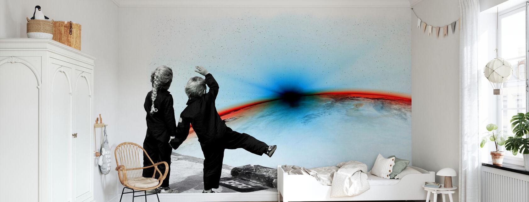 Adios - Wallpaper - Kids Room