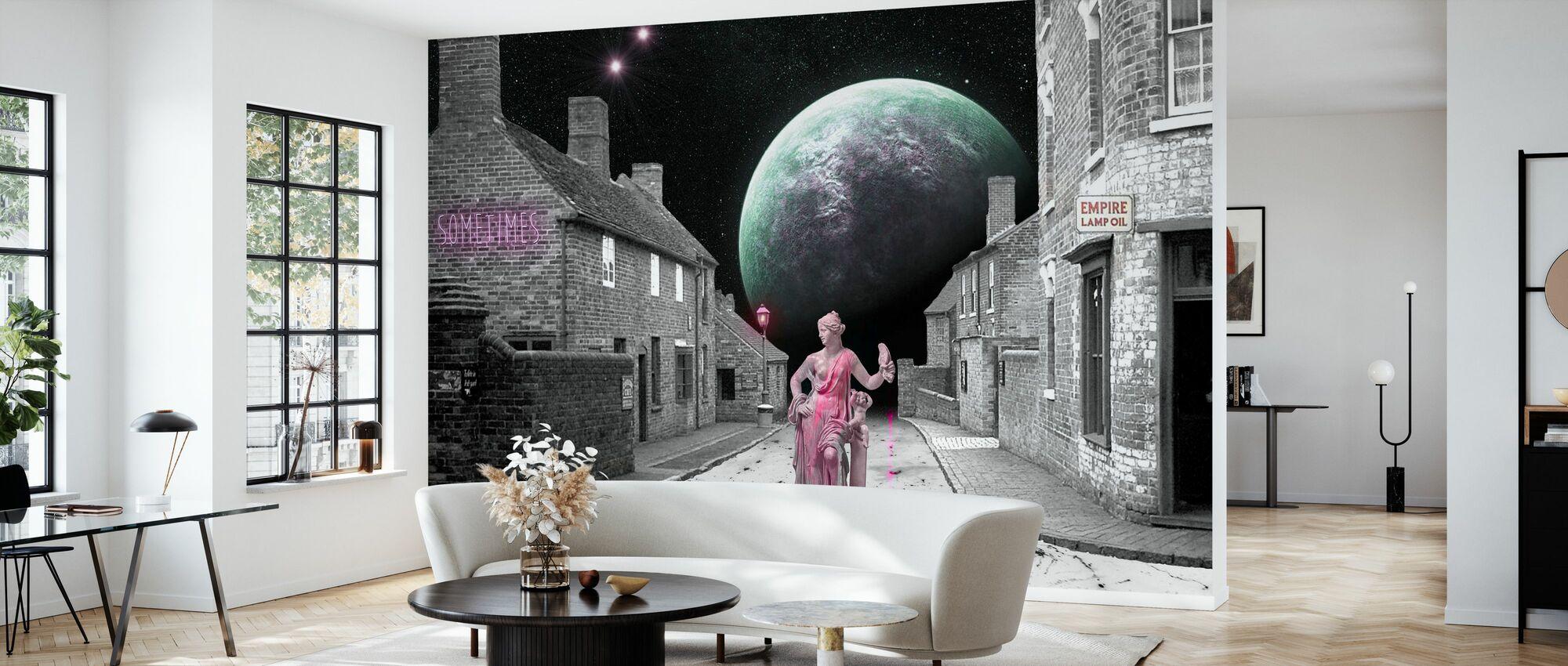 Sometimes - Wallpaper - Living Room