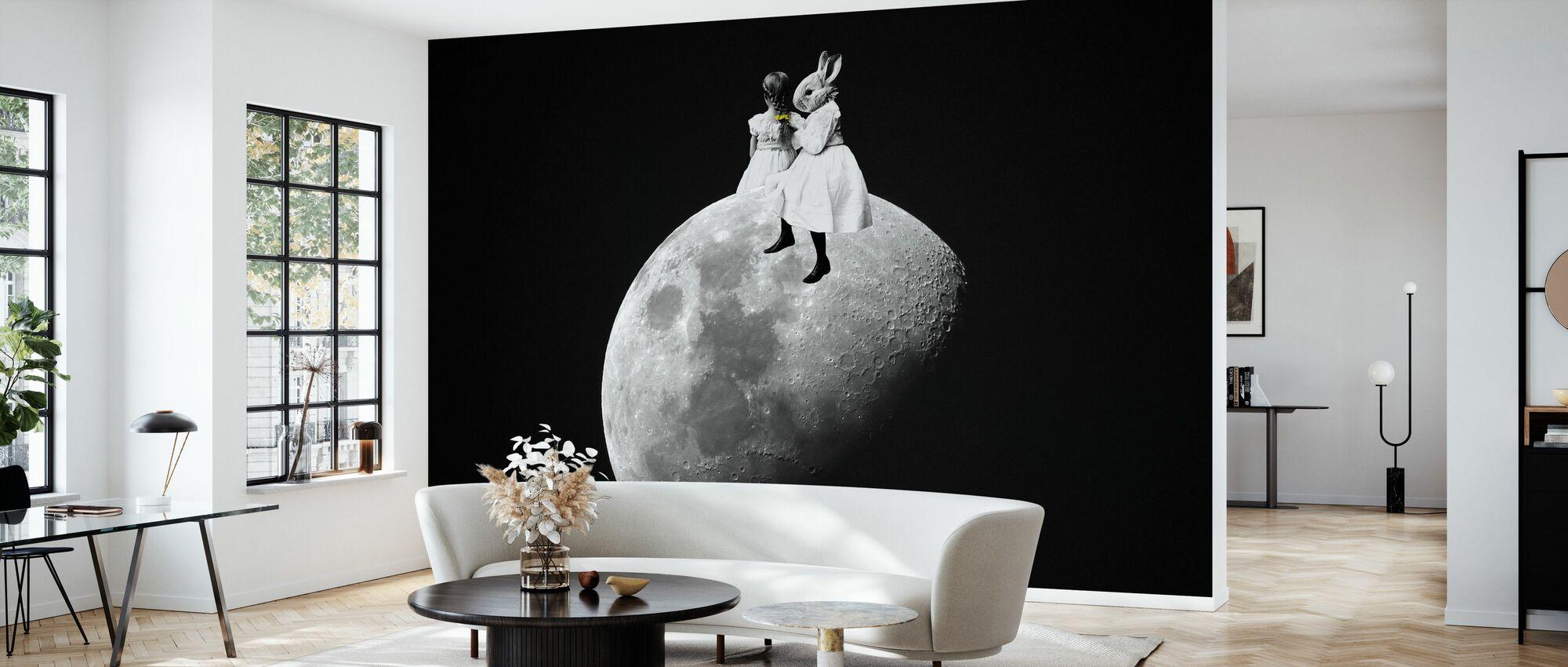 Time - Wallpaper - Living Room