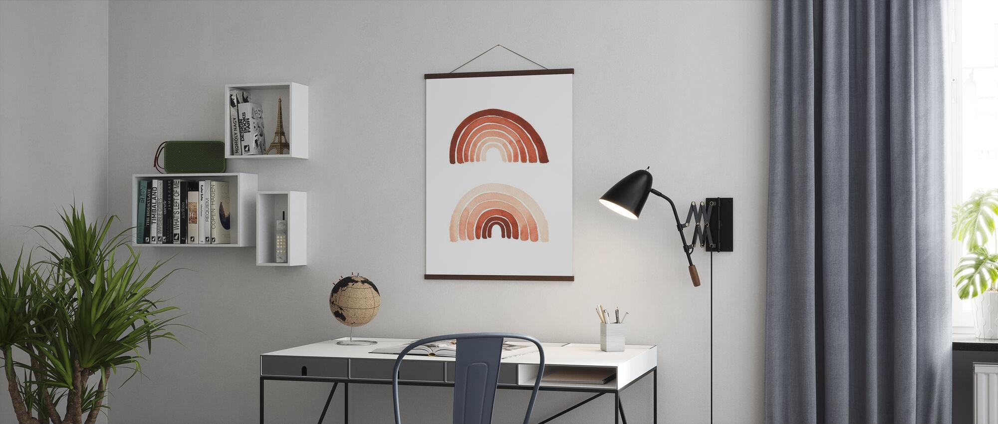 Orange Rainbow - Poster - Office