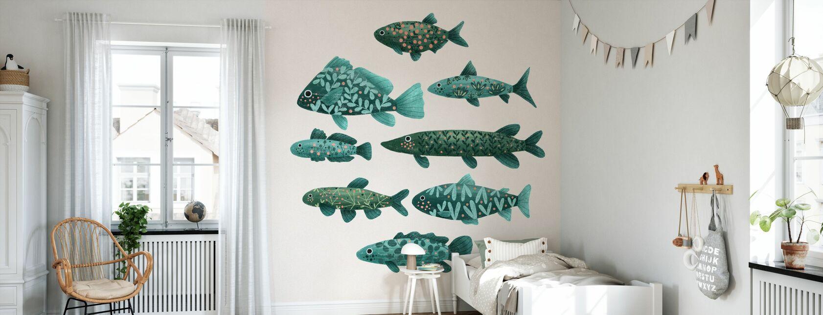 Kalaa - Tapetti - Lastenhuone