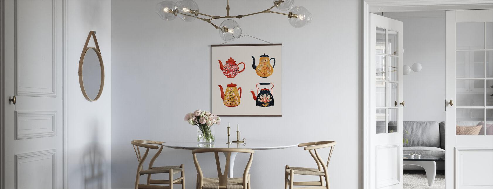 Tekannor - Poster - Kök