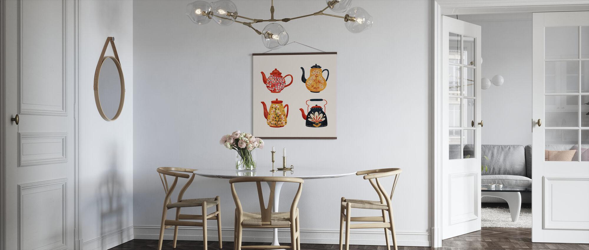 Teapots - Poster - Kitchen