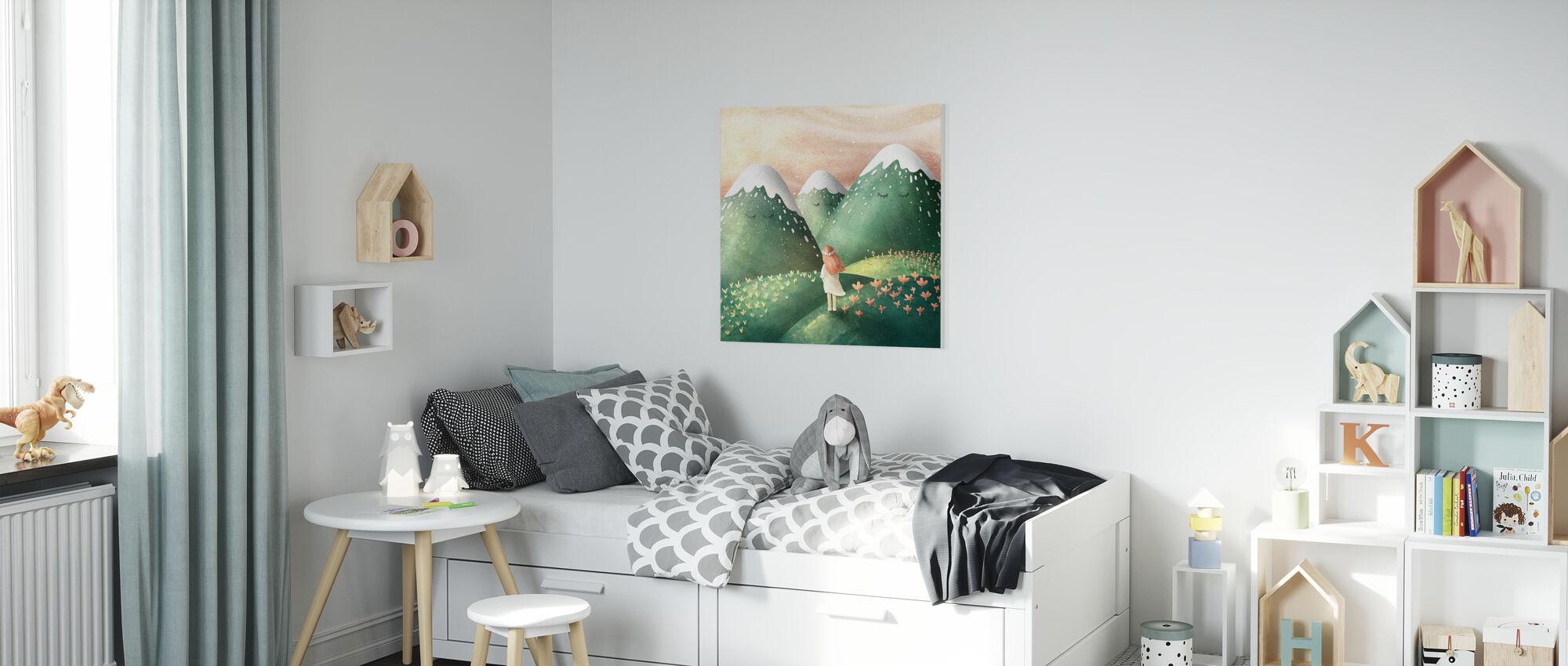 Drömmer - Hill - Canvastavla - Barnrum