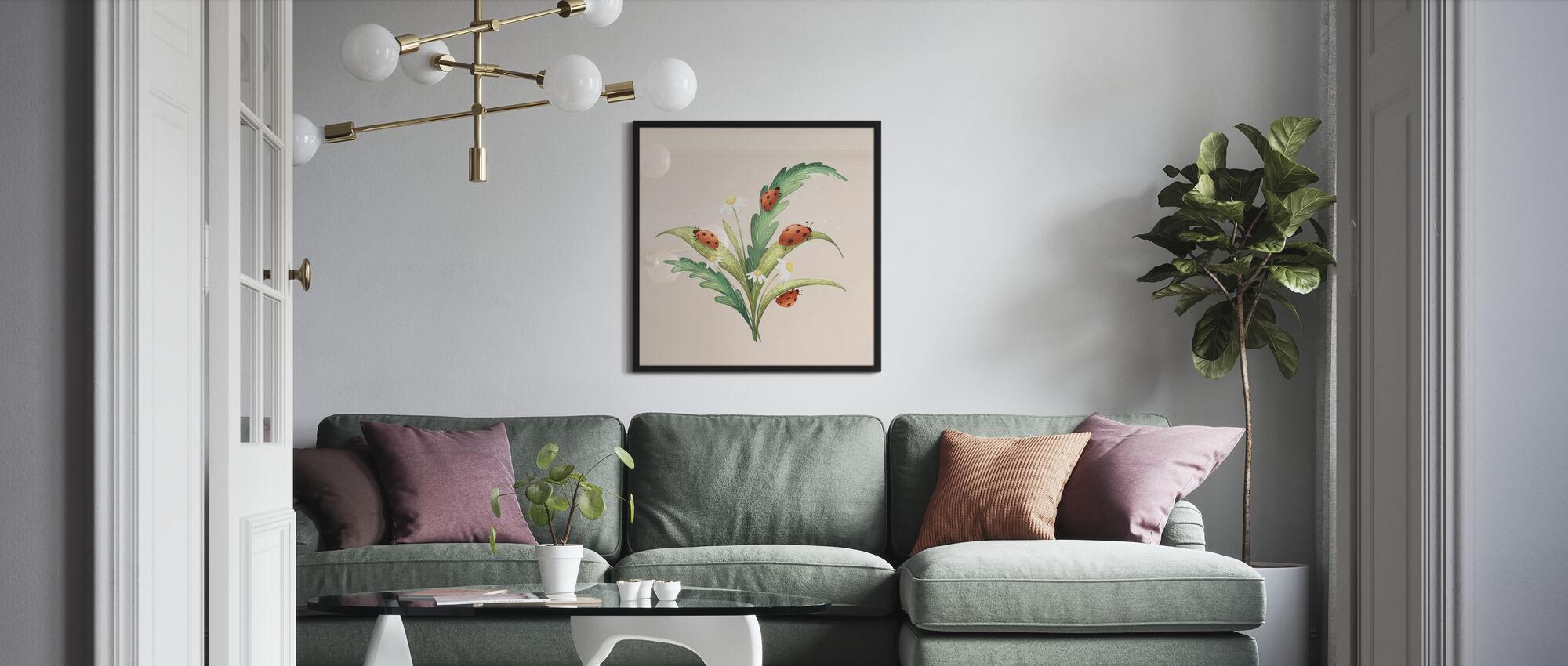 Marienkaefer - Poster - Living Room