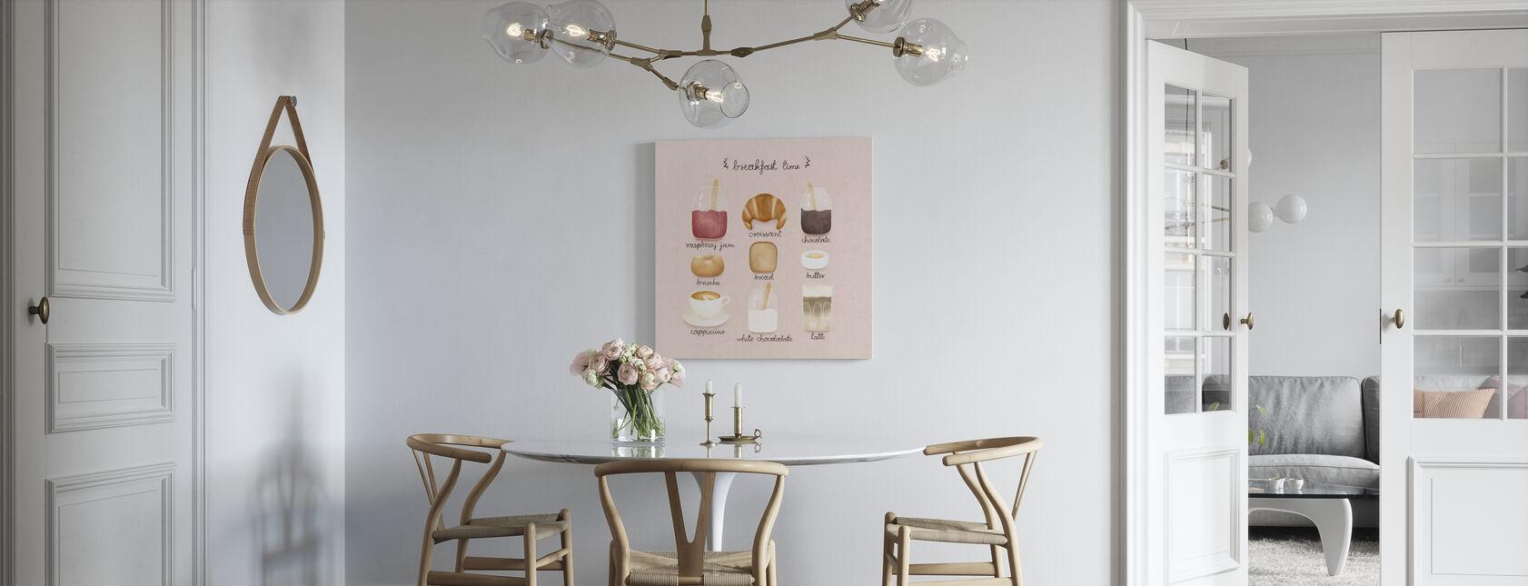 Tempo per la colazione - Stampa su tela - Cucina