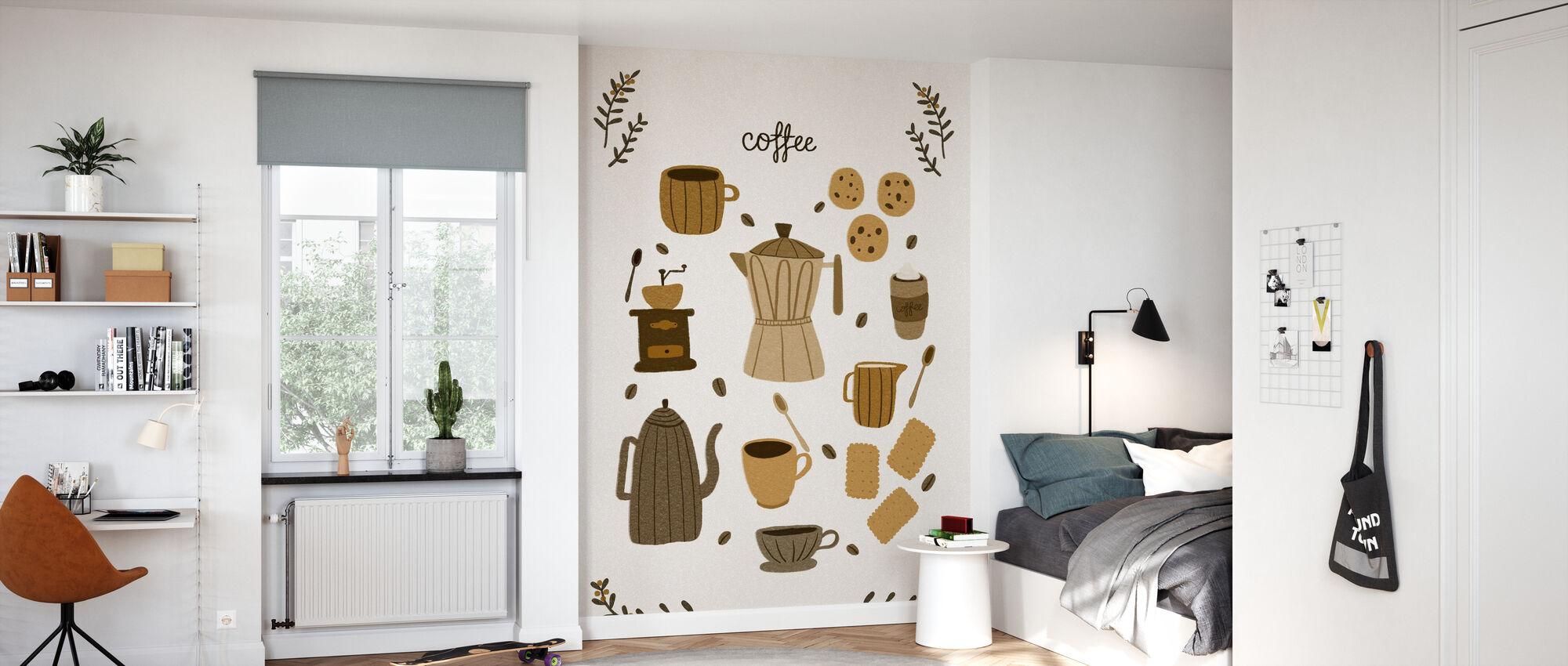 Tid for kaffe - Tapet - Barnerom
