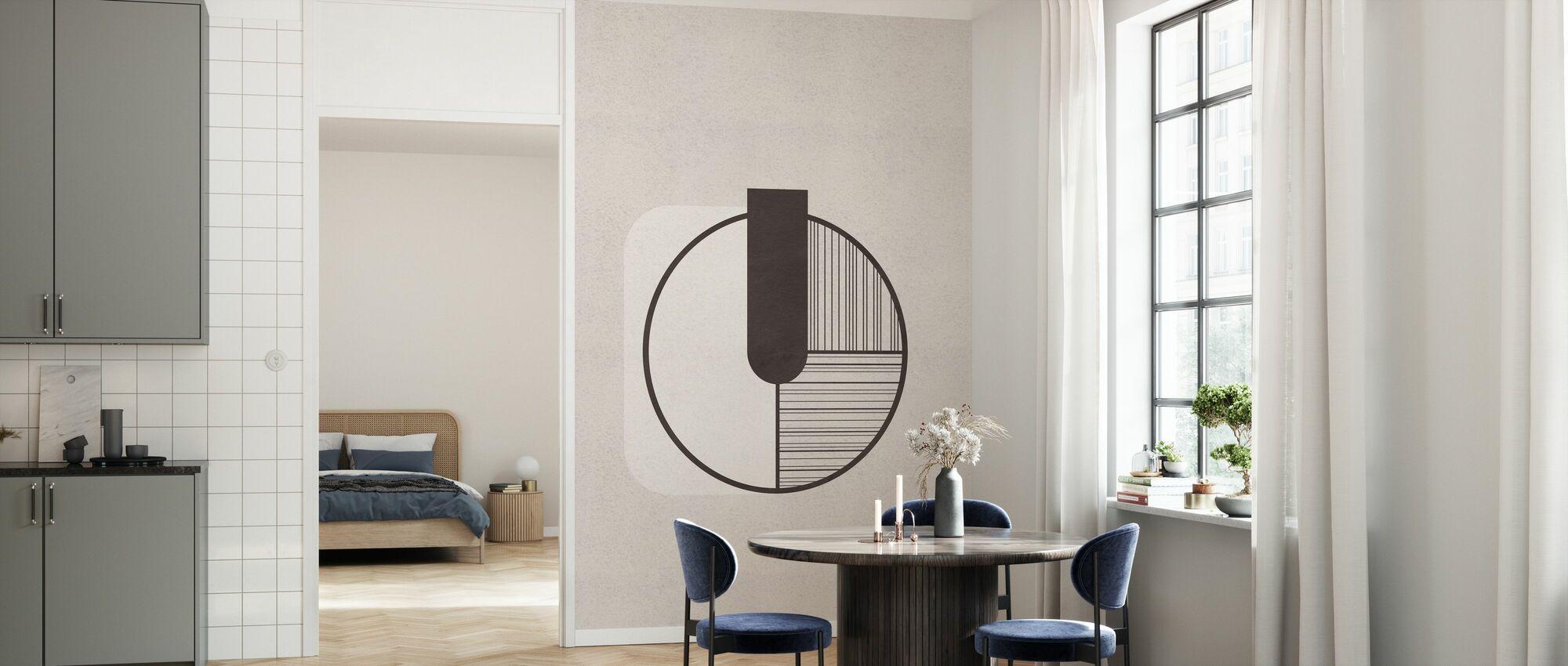 Interval - Behang - Keuken