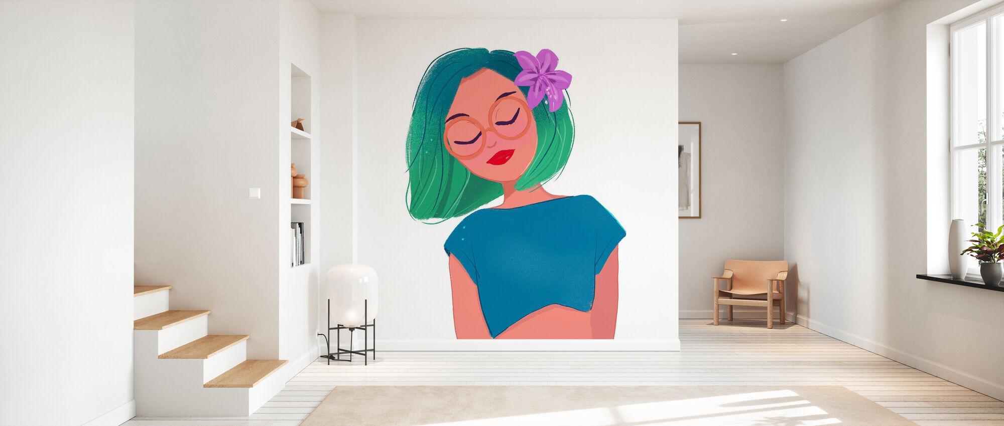 Tropical Feelings - Wallpaper - Hallway