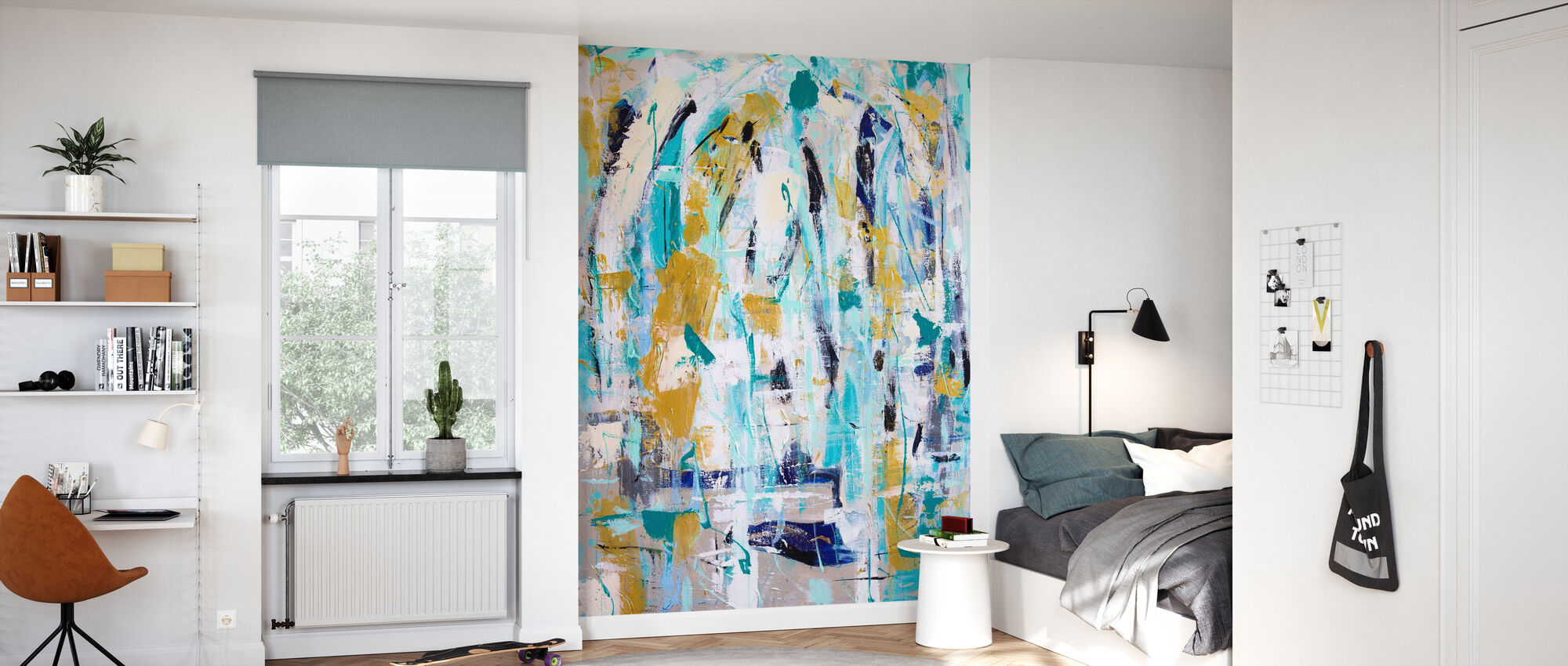 Rain can be so Refreshing - Wallpaper - Kids Room