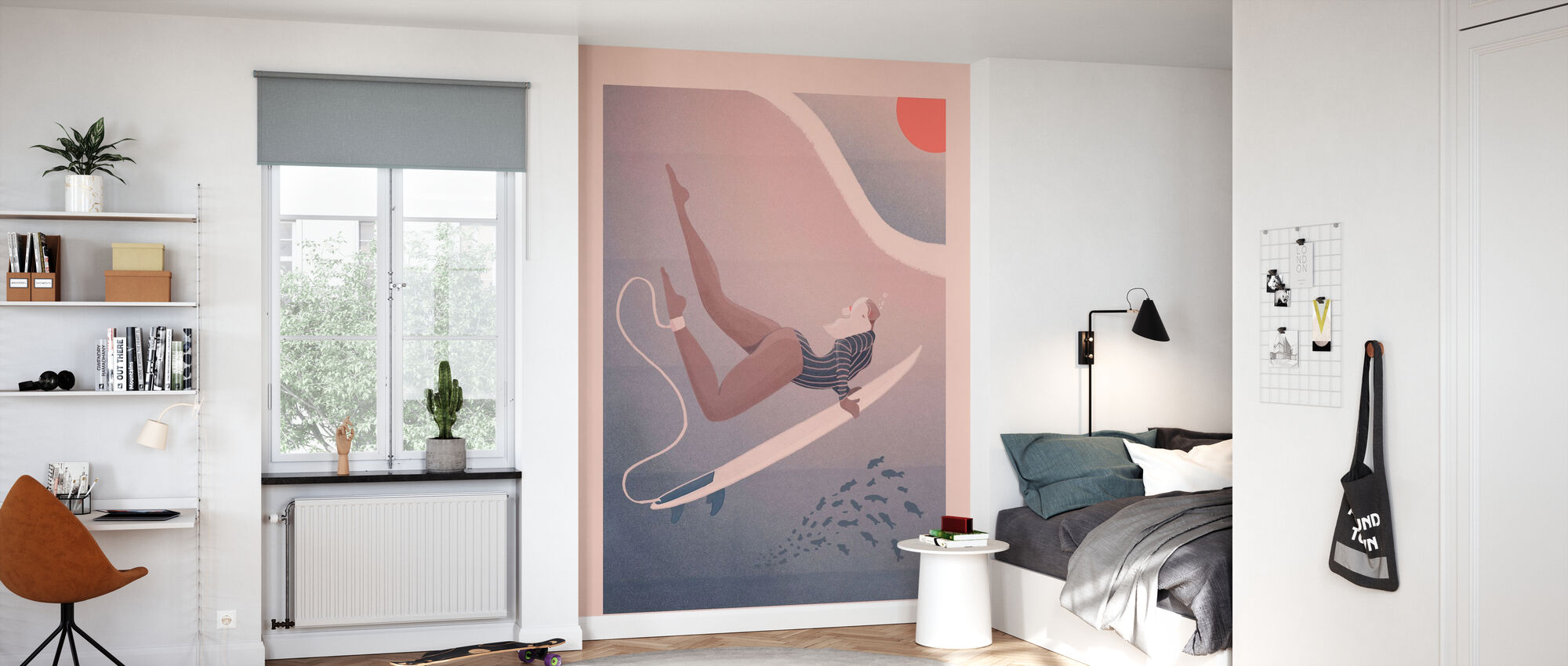 Into the Blue - Wallpaper - Kids Room
