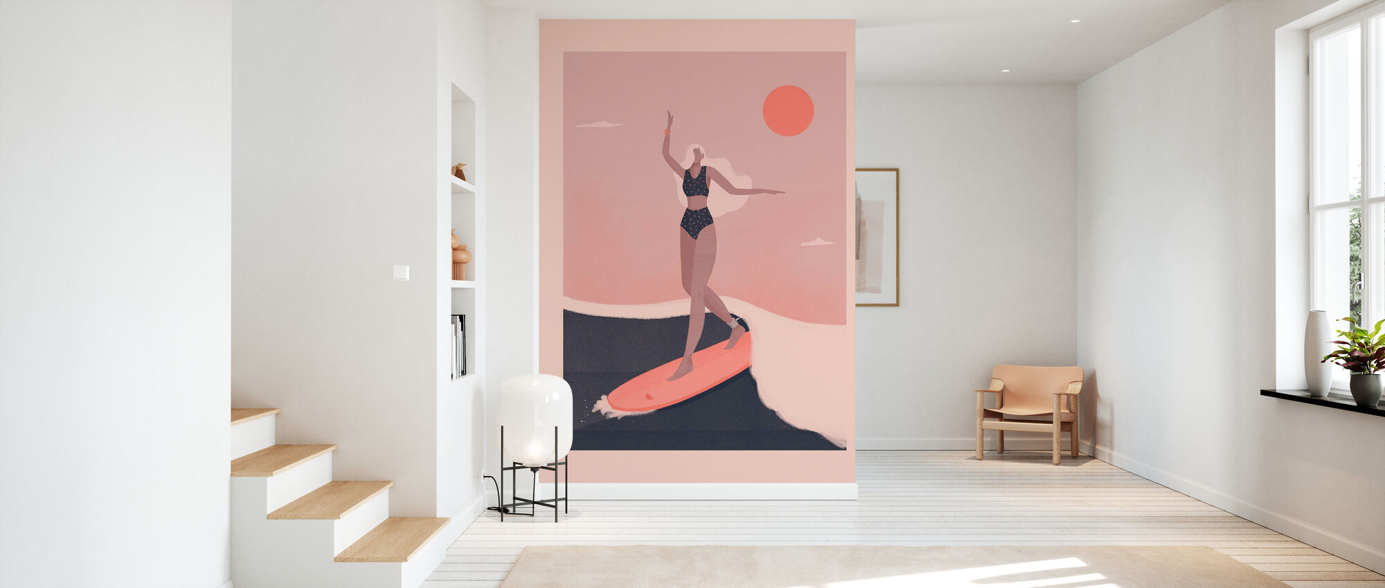 Into the Surf - Wallpaper - Hallway