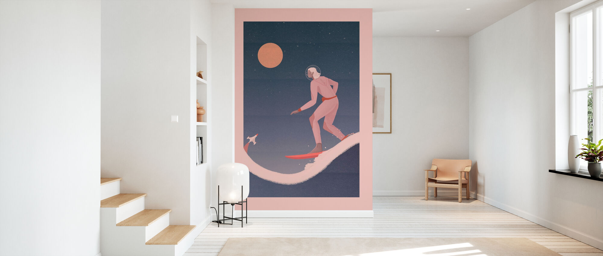 Surfing on other Planets - Wallpaper - Hallway