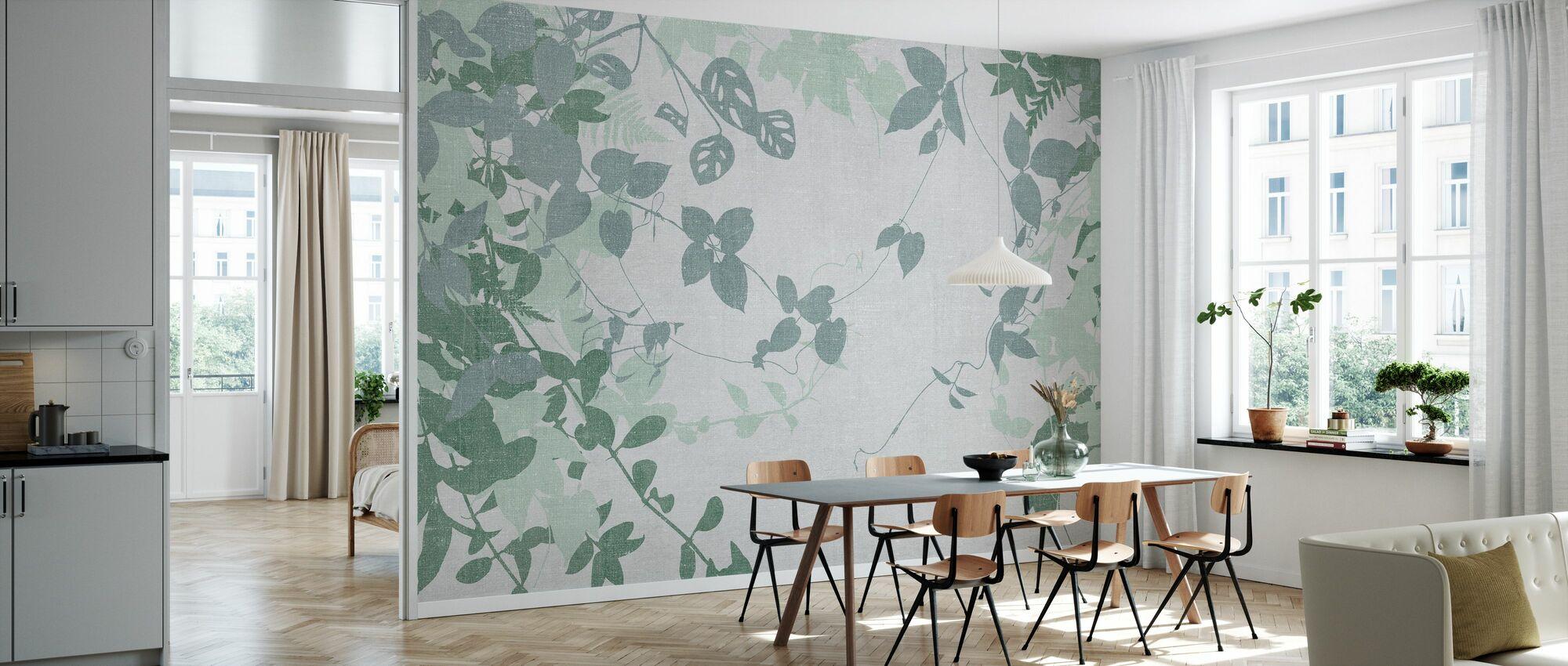 Ivy Forest - Groen - Behang - Keuken