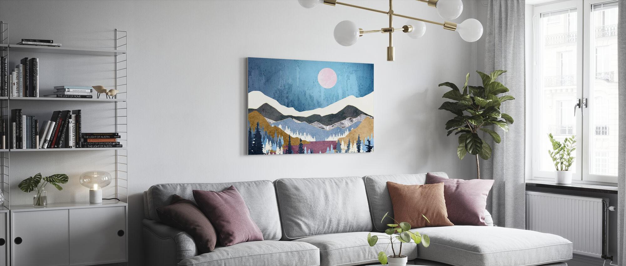 Blueberry Sky - Canvas print - Living Room