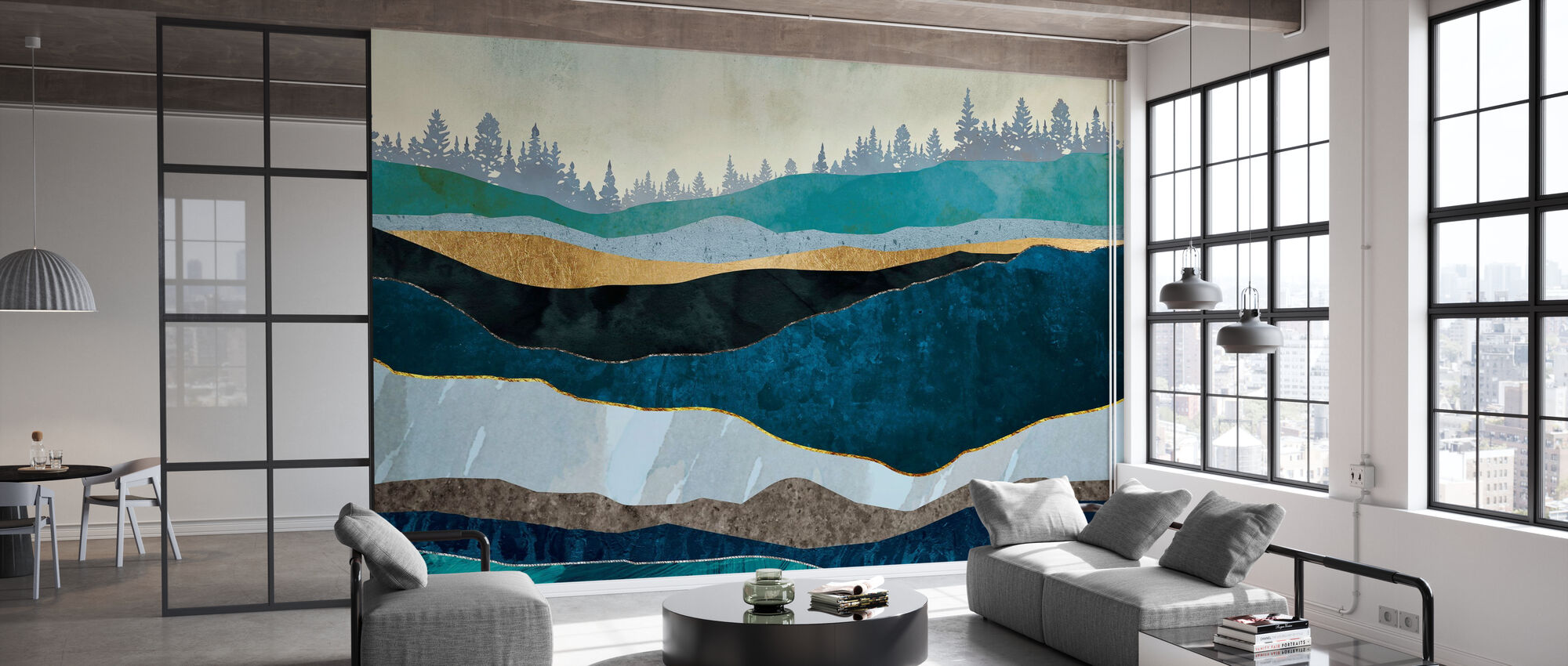 Turquoise Hills - Wallpaper - Office