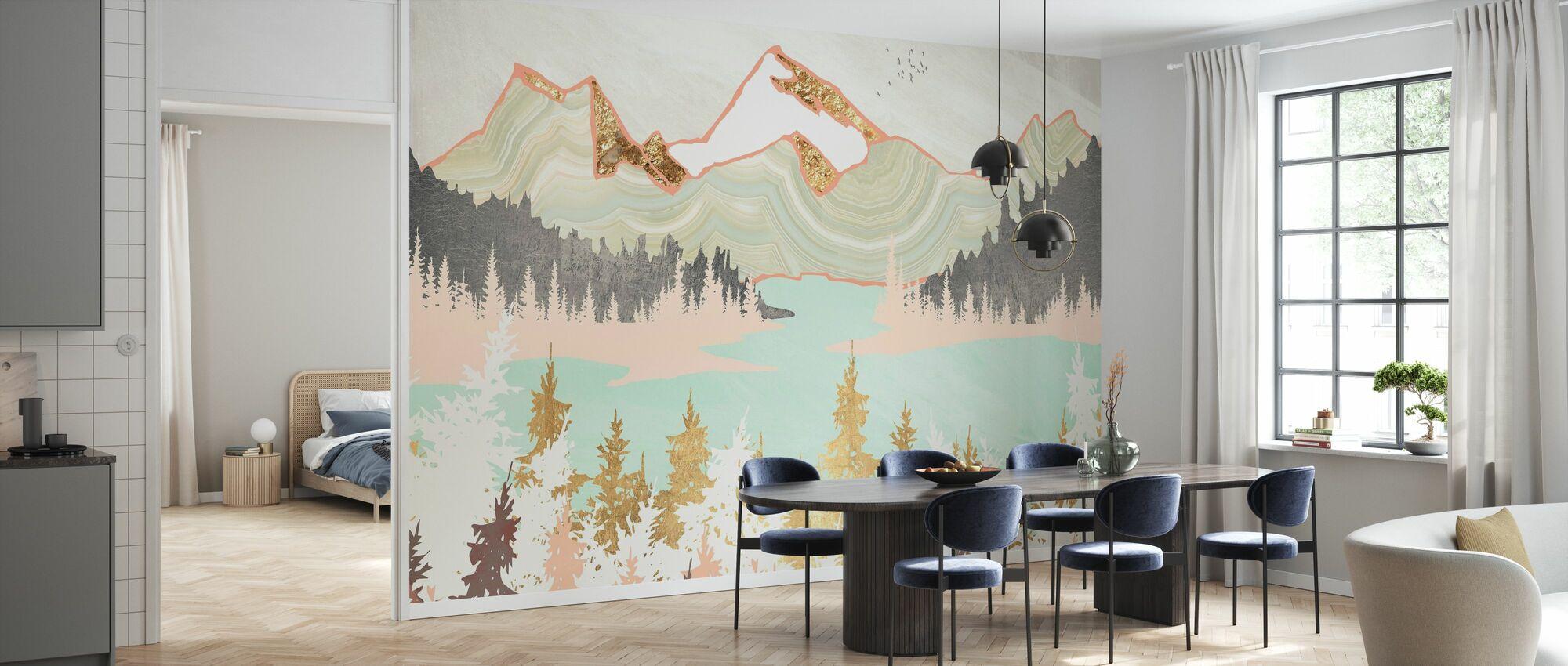 Winter Bay - Wallpaper - Kitchen