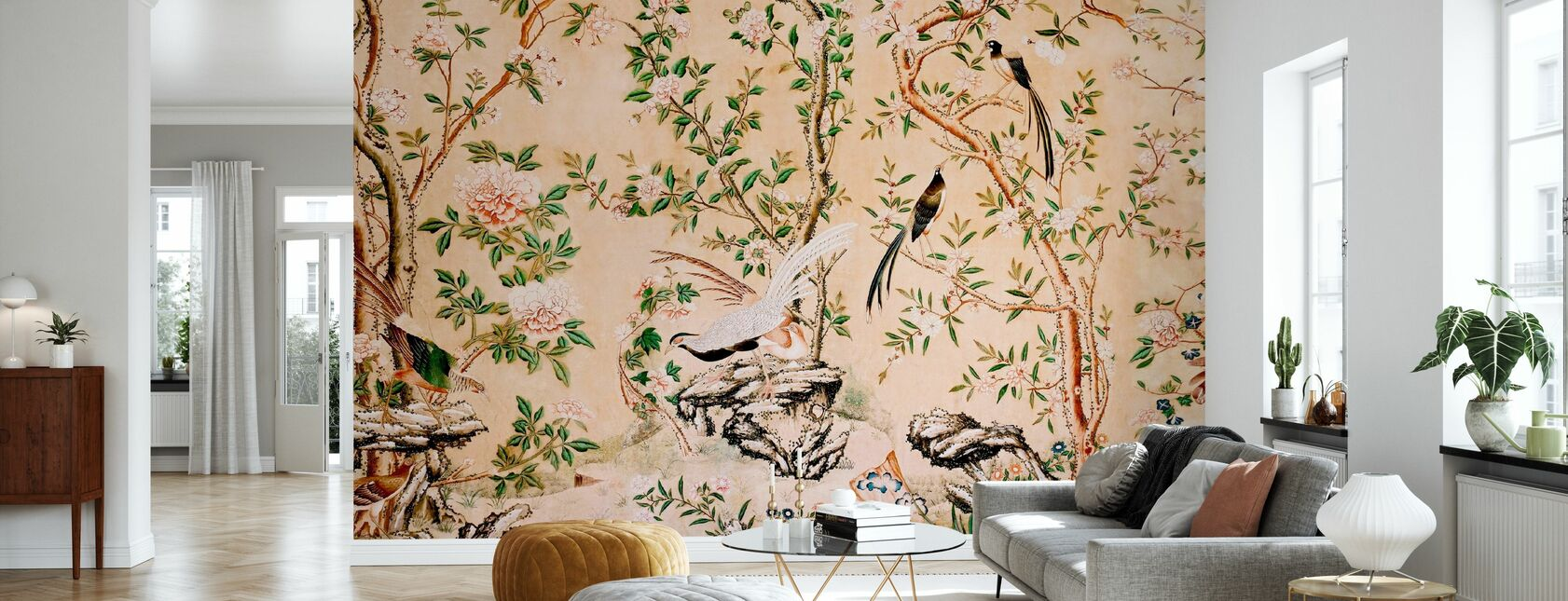 Chinoiserie - Tapet - Stue