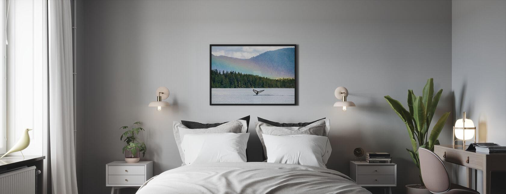 Baleine à bosse - Impression encadree - Chambre