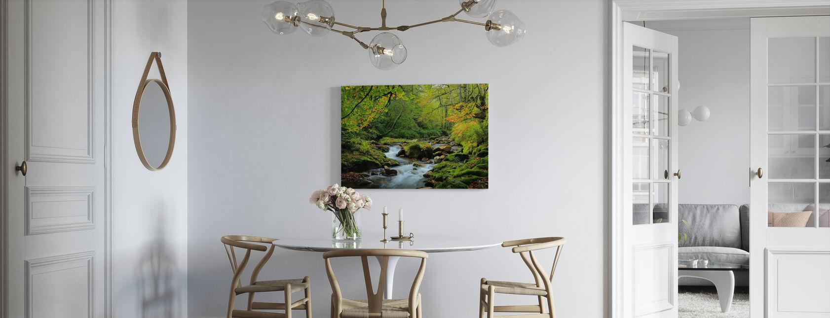 Rivier- en Beukenbos - Canvas print - Keuken