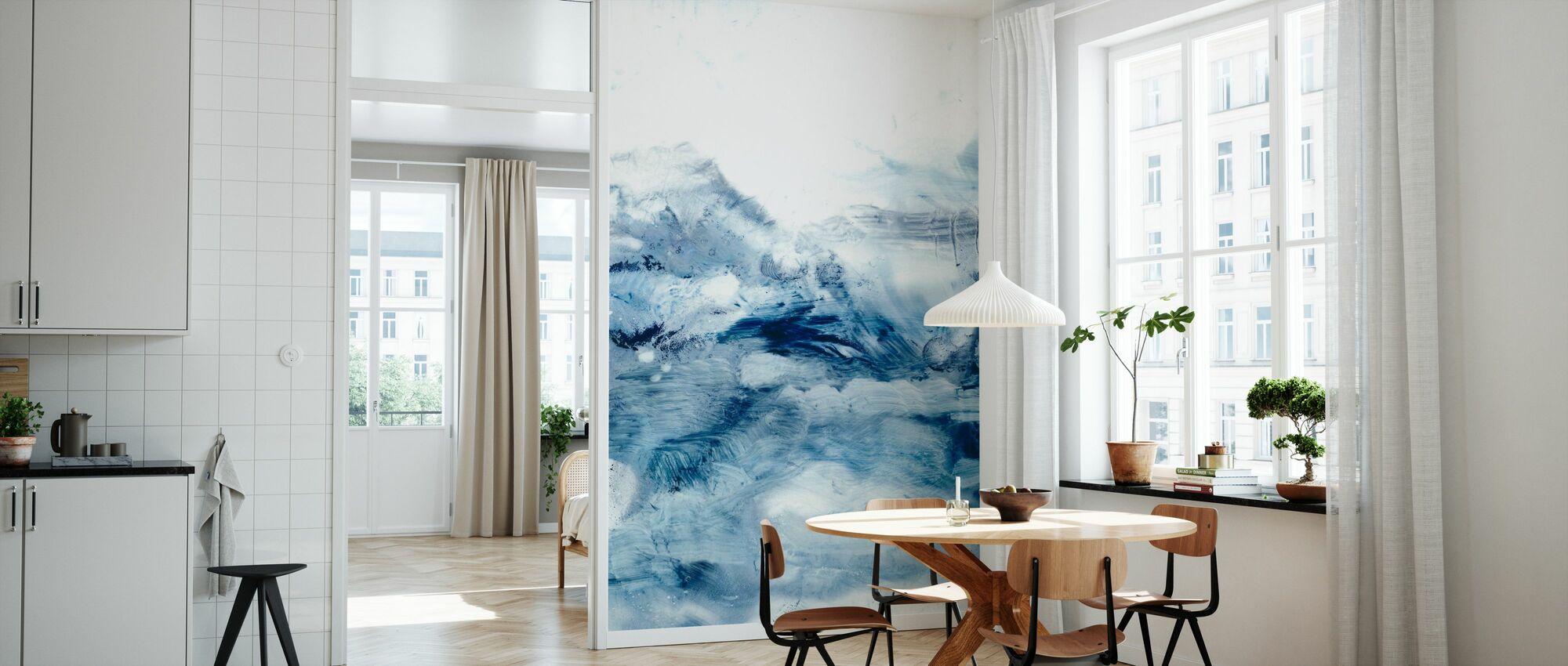 Indigo Tides - Wallpaper - Kitchen