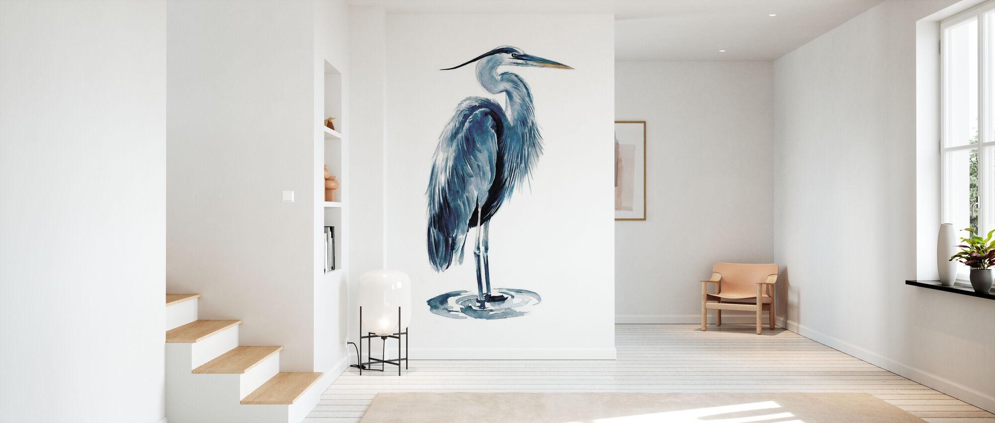 Blue Blue Heron - Wallpaper - Hallway