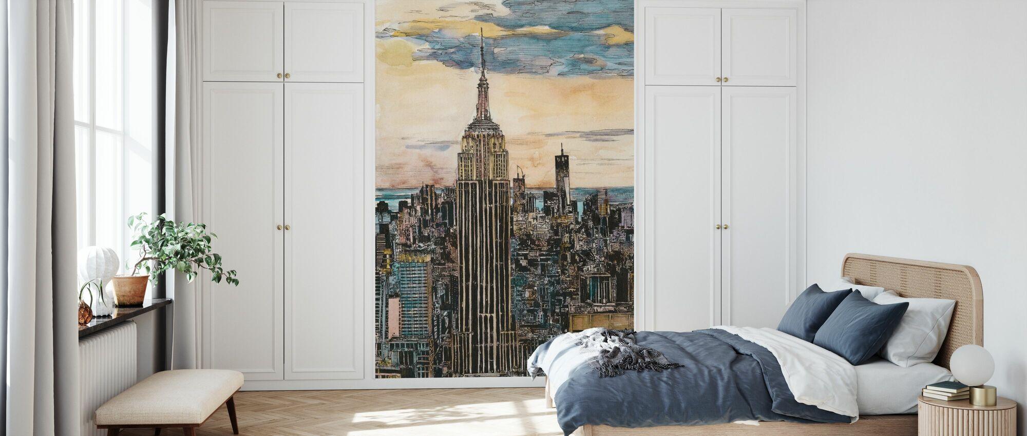 US Cityscape - NYC - Wallpaper - Bedroom