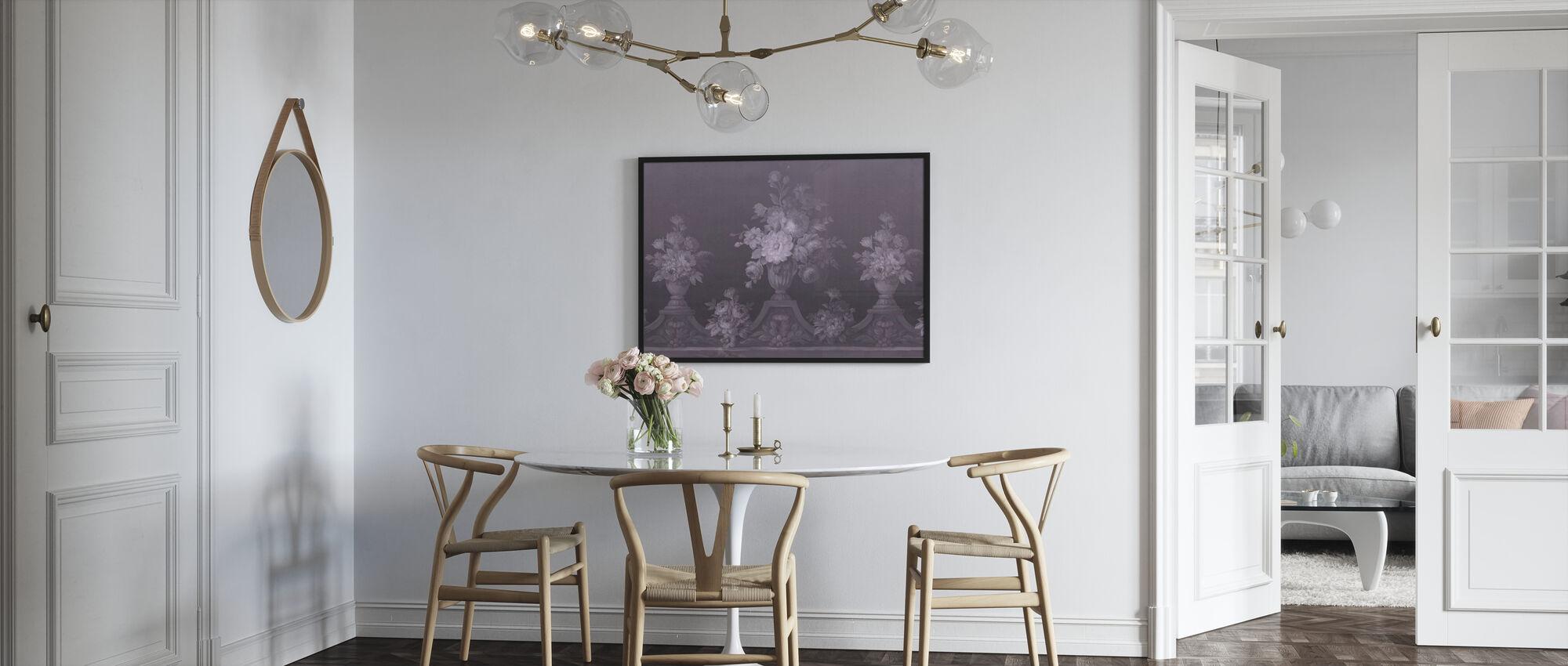 Verdant Deco - Violett - Poster - Kök