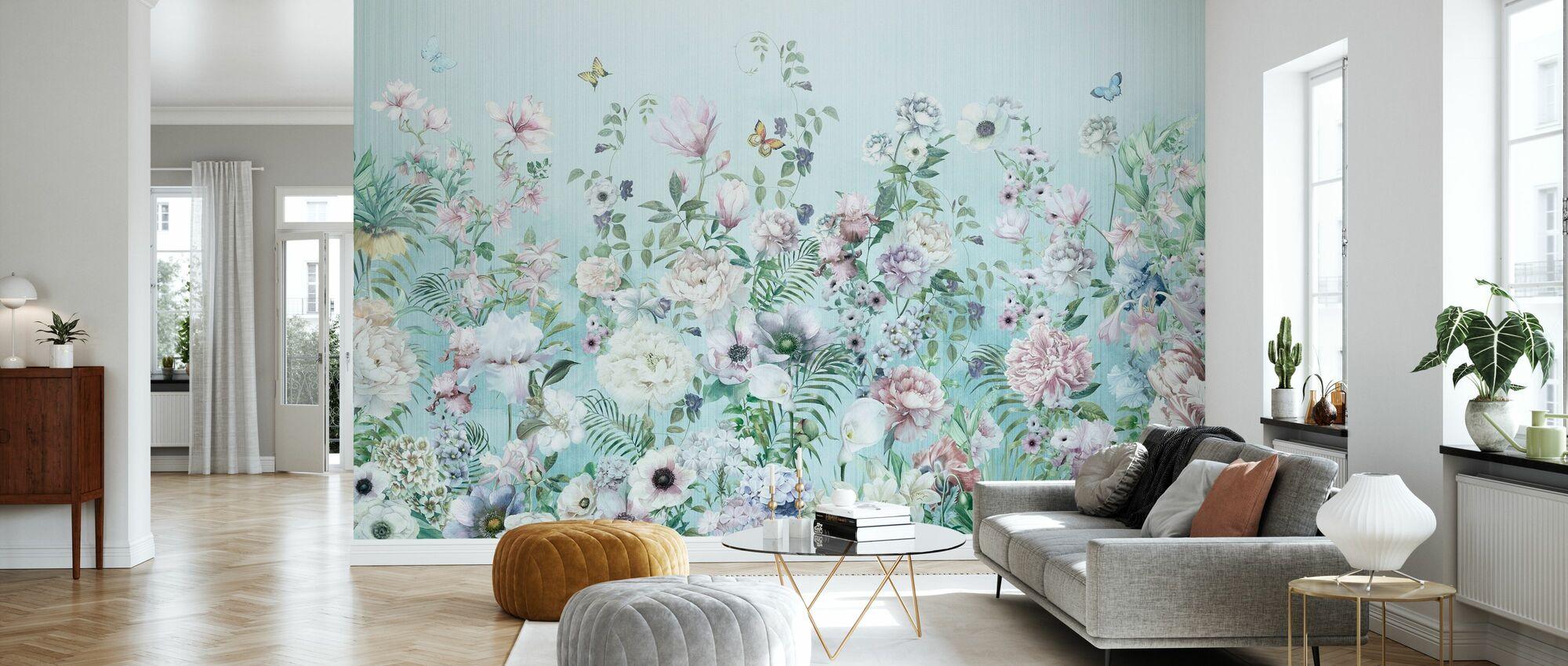 Blooming Floral - Wallpaper - Living Room