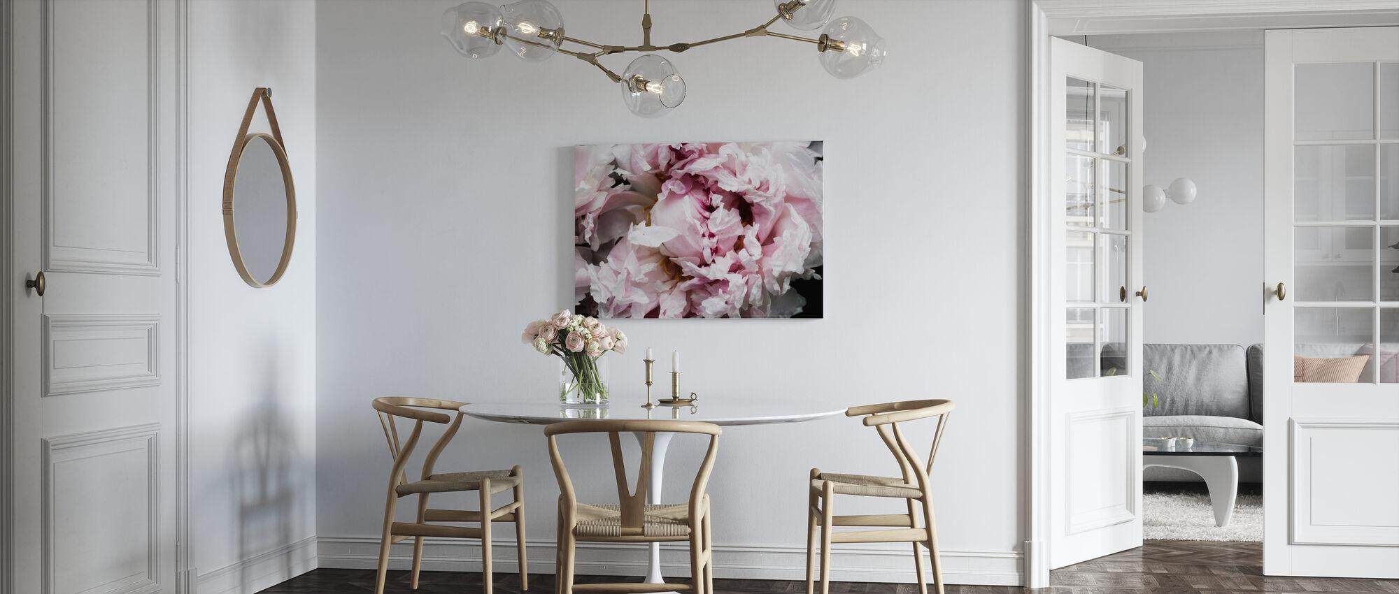 Pink Peony Passion II - Canvas print - Kitchen