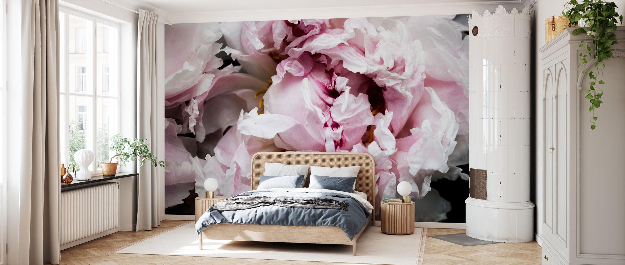 Pink Peony Passion II - Wallpaper - Bedroom