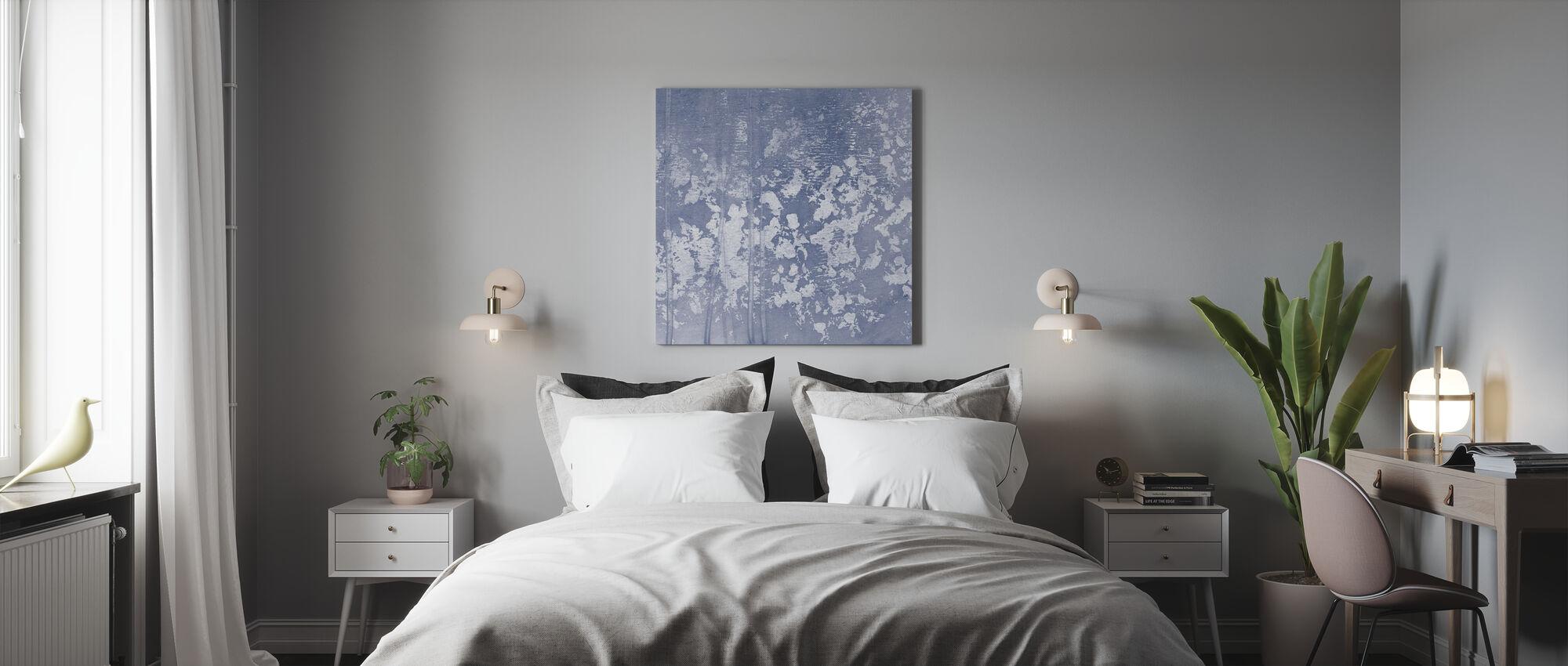 Indigo Regel - Leinwandbild - Schlafzimmer