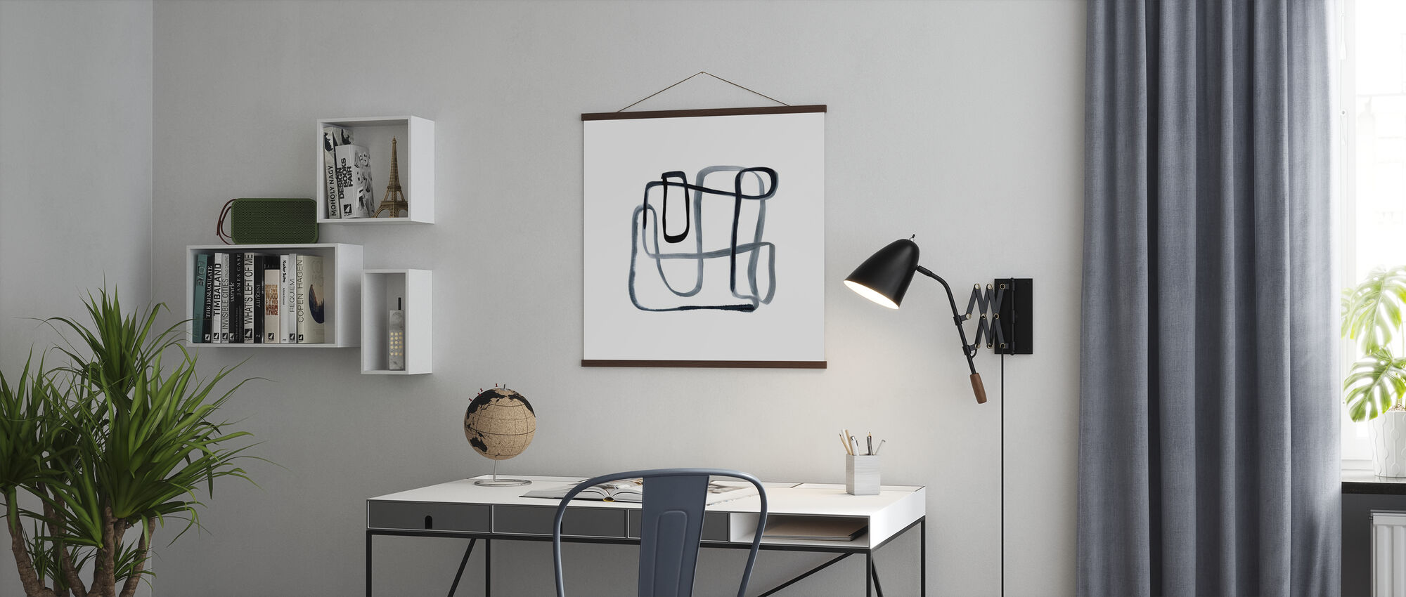 Sinuous - Poster - Office