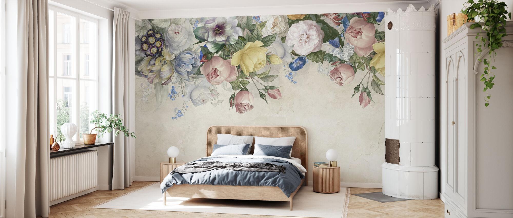 Flower Up - Wallpaper - Bedroom