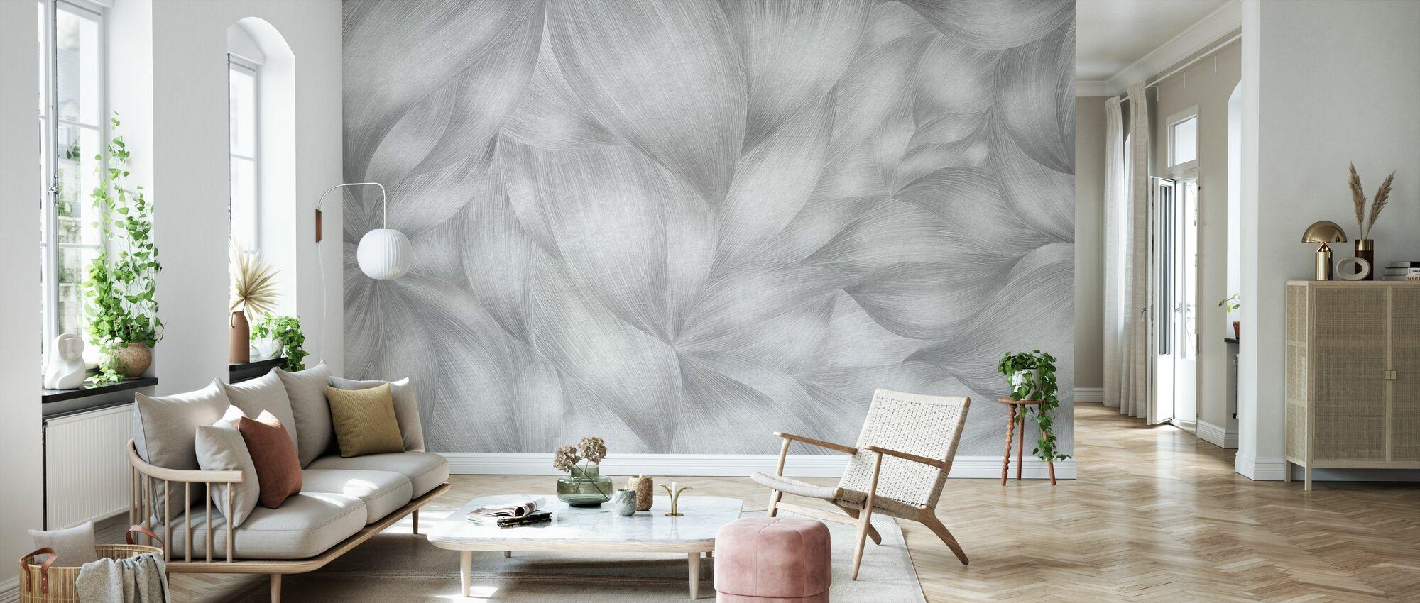 Flowing Forms II - Wallpaper - Living Room