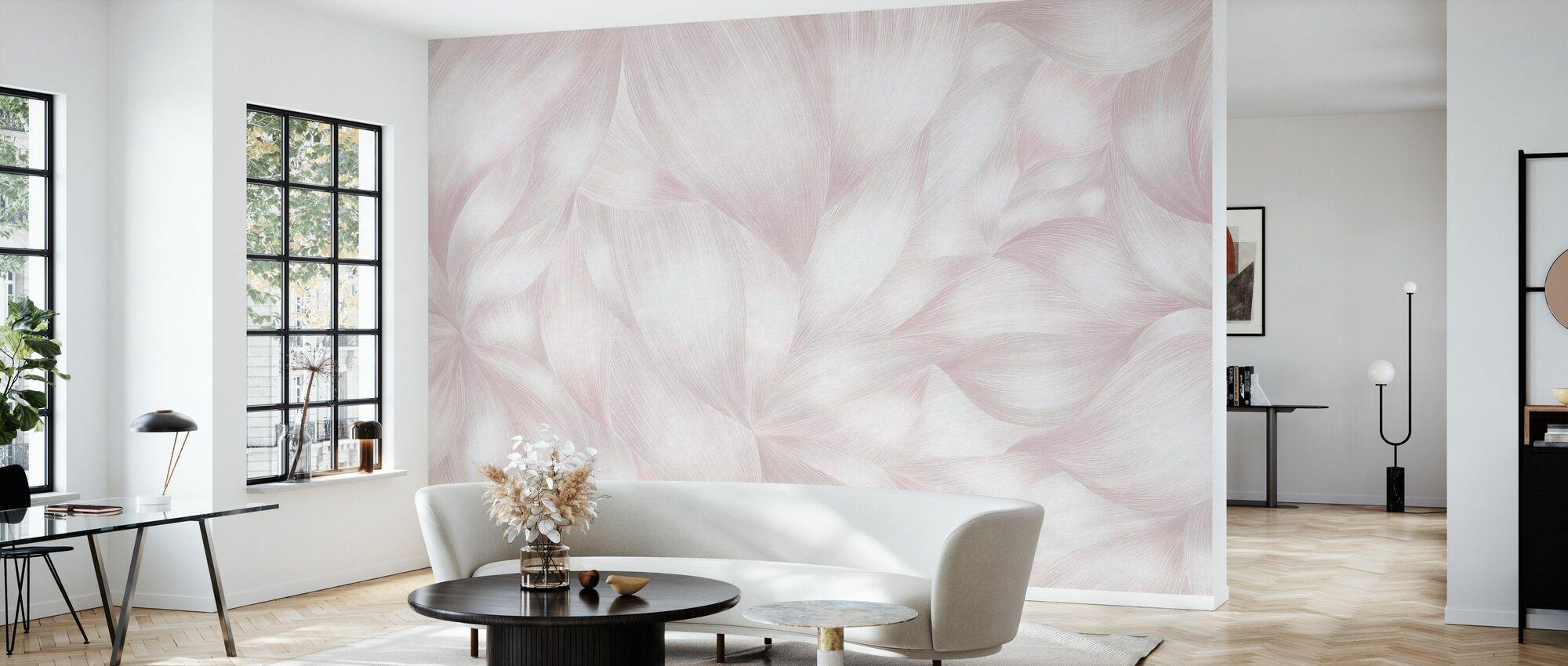 Flowing Forms III - Wallpaper - Living Room