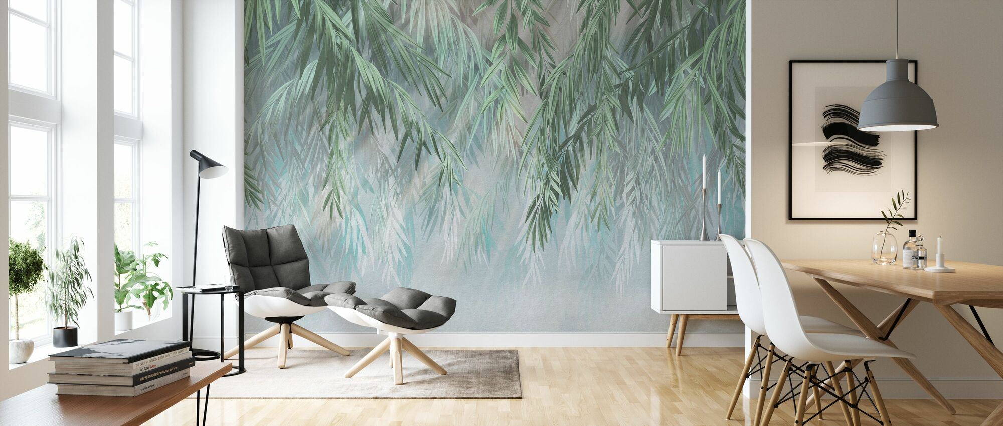 Tropical Gleam - Wallpaper - Living Room