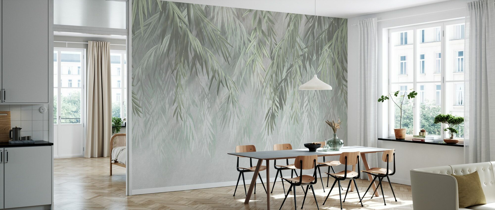 Tropical Gleam IIII - Wallpaper - Kitchen
