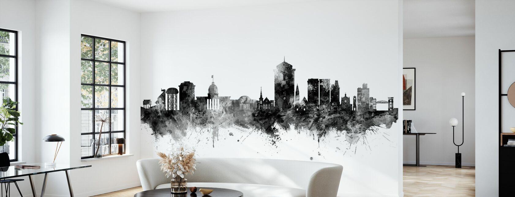 Montgomery Alabama Skyline - Wallpaper - Living Room
