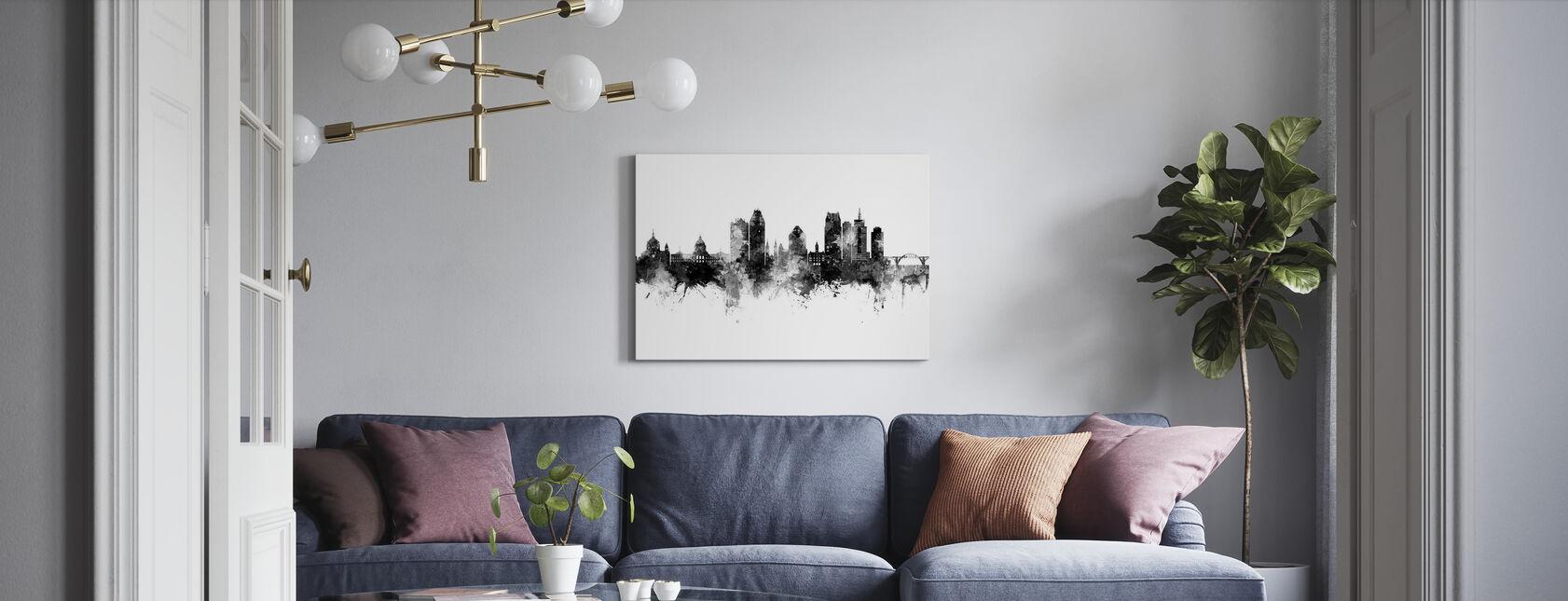 Saint Paul Minnesota Skyline - Canvas print - Living Room