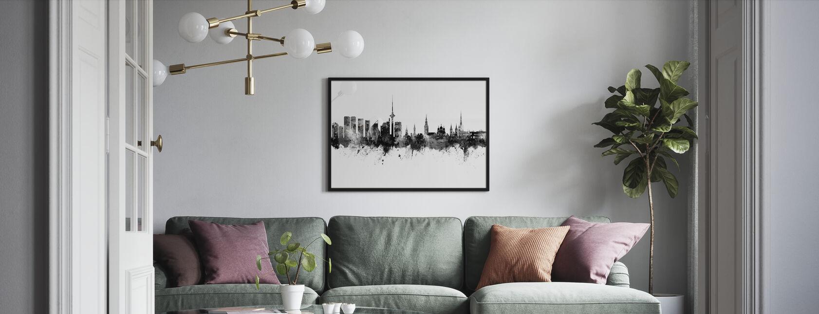 Tallinn Estonia Skyline - Poster - Living Room