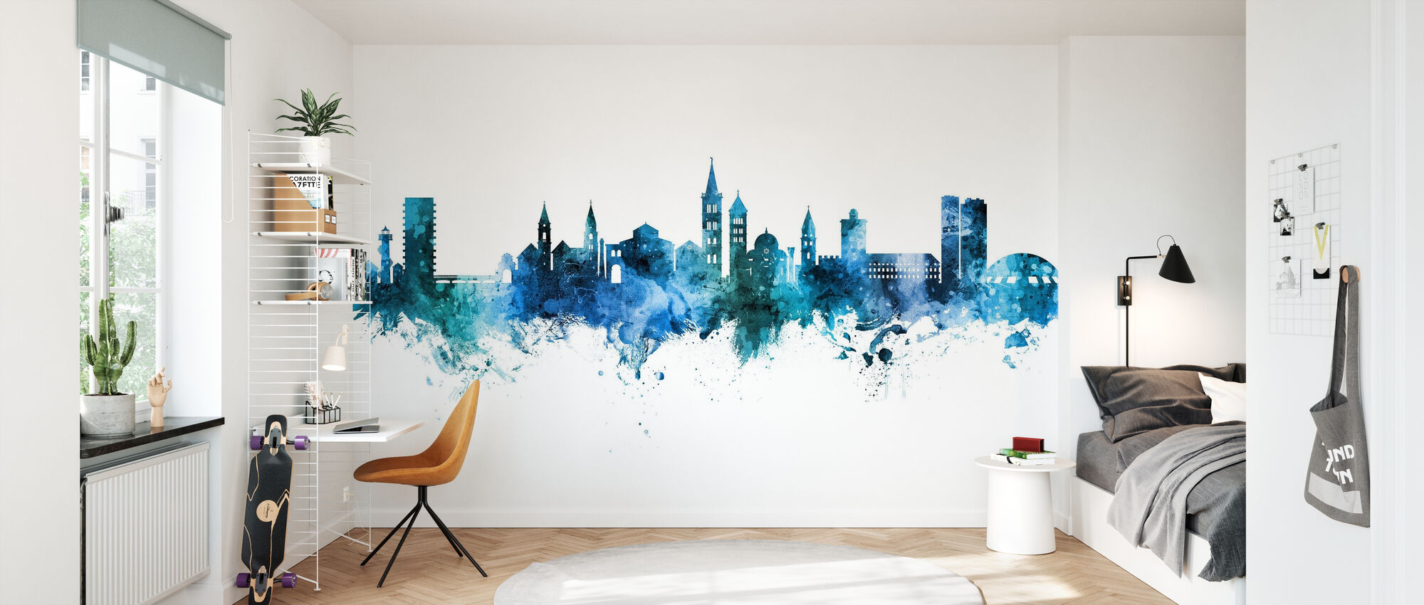Zadar Croatia Skyline - Wallpaper - Kids Room