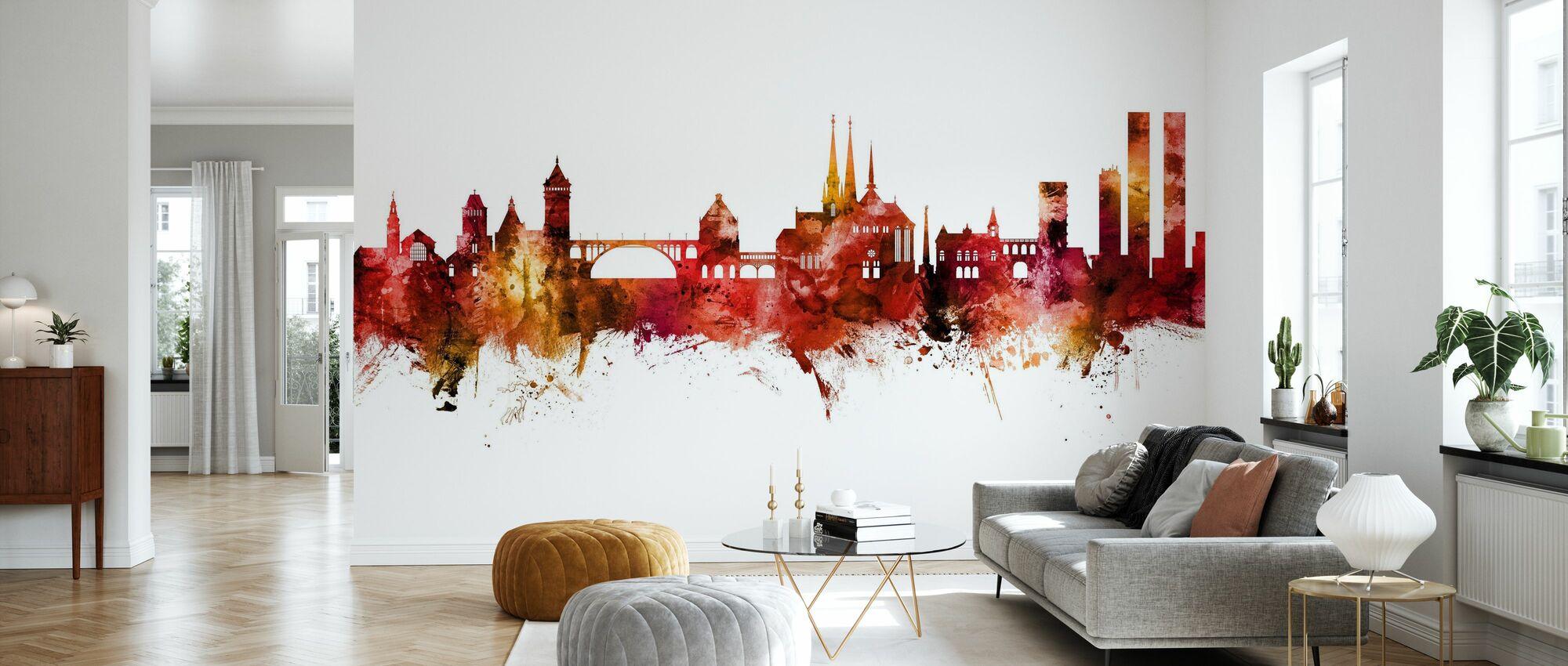 Luxembourg City Skyline - Wallpaper - Living Room